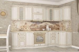Кухня угловая радиусная Вена - Мебельная фабрика «Мебель Поволжья»