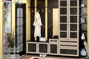Прихожая Версаль-3 - Мебельная фабрика «Дара»