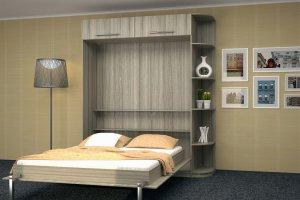 Вертикальная двуспальная кровать трансформер - Мебельная фабрика «Анталь»