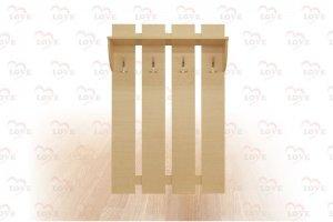 Вешалка 4 крючка - Мебельная фабрика «Любимая Мебель»