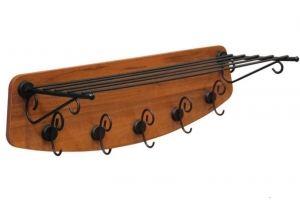 Вешалка деревянная Грация 4 5 - Мебельная фабрика «Sheffilton»