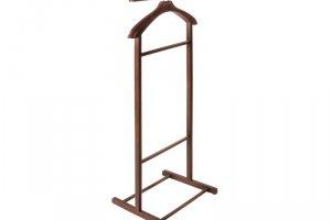 Вешалка костюмная В 21Н средне-коричневый - Мебельная фабрика «Мебелик»