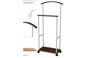 Вешалка костюмная Верис 3 - Мебельная фабрика «Мебелик»