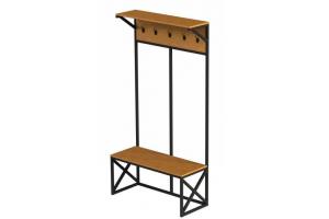 Вешалка металлическая с крючками - Мебельная фабрика «Desk Question»