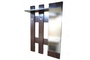 Вешалка настенная Вешало с зеркалом НВ-2 - Мебельная фабрика «Калина»