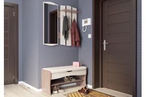 Вешалка с зеркалом Фьюжен - Мебельная фабрика «Гранд Кволити»
