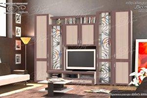 Стенка в гостиную Веста-2 - Мебельная фабрика «Дара»