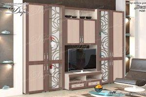гостиная стенка Веста-5 - Мебельная фабрика «Дара»