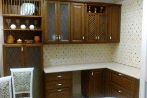 Угловая кухня Виктория - шпон - Мебельная фабрика «Мебелькомплект»