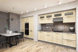 Кухня МДФ Village 2 Colour - Мебельная фабрика «Энгельсская (Эмфа)»