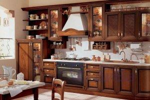 Винтажная классическая кухня - Мебельная фабрика «ДиВа мебель»