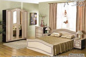Спальный гарнитур Виолетта - Мебельная фабрика «Дара»