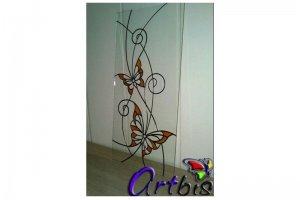 Витраж мебельный Бабочки - Оптовый поставщик комплектующих «Artbis»