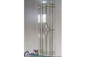Витраж мебельный с матовыми вставками - Оптовый поставщик комплектующих «Artbis»