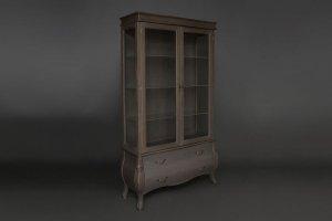Витрина двухдверная Provence - Мебельная фабрика «Berger»