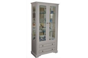 Витрина  Прованс М2 - Мебельная фабрика «Прима-мебель»