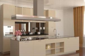 Вместительная кухня с островом - Мебельная фабрика «VELDE»