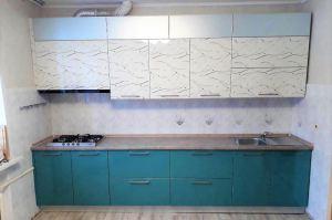 Вместительная прямая кухня - Мебельная фабрика «Найди»