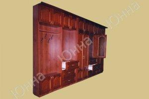Вместительная стенка в прихожую - Мебельная фабрика «ЮННА»