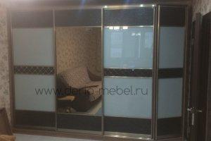 Вместительный шкаф-купе в комнату - Мебельная фабрика «Дэрия»