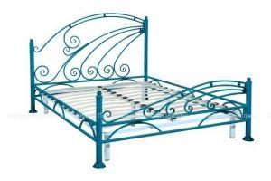 Кровать металлическая Волна - Мебельная фабрика «Мебель Поволжья»