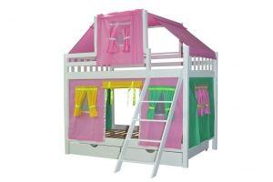 Кровать детская двухъярусная Воробушка - Мебельная фабрика «Мебель Холдинг»
