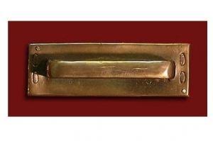 Врезная мебельная ручка Ф1062а - Оптовый поставщик комплектующих «Калежа»