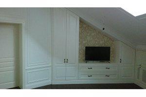 Встроенный шкаф для гостиной - Мебельная фабрика «Винтаж»