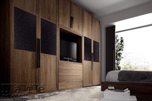 Встроенный шкаф из массива Одэлис - Мебельная фабрика «ПАТЭ»
