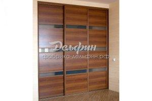 Встроенный шкаф-купе - Мебельная фабрика «Дельфин»