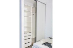 Встроенный шкаф-купе Бригг - Мебельная фабрика «ЦЕНТР МЕБЕЛИ»