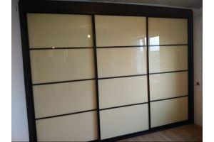 Встроенный шкаф-купе глянец - Мебельная фабрика «РЯЗПРОММЕБЕЛЬ»