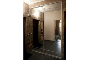 Встроенный шкаф-купе с зеркалами - Мебельная фабрика «РЯЗПРОММЕБЕЛЬ»