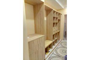 Встроенный шкаф-купе в коридор - Мебельная фабрика «Алгаир»