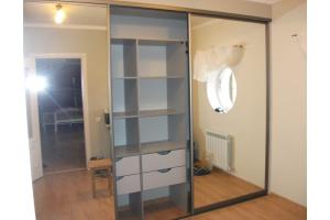 Встроенный шкаф-купе зеркальный - Мебельная фабрика «Мебель-ОС»