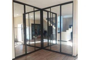 Встроенный угловой шкаф-купе - Мебельная фабрика «Таита»