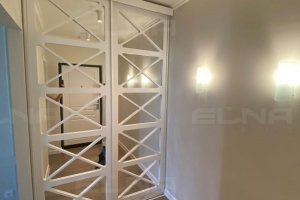 Встроенный шкаф-купе МДФ - Мебельная фабрика «Элна»