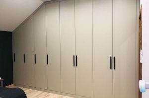 Встроенный шкаф МДФ - Мебельная фабрика «Элна»
