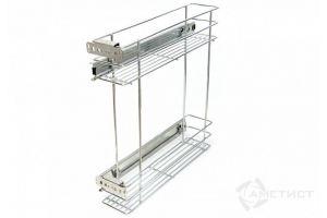 Выдвигающаяся корзина для кухни 151 Aurora Артикул: SN151A.150CP - Оптовый поставщик комплектующих «Аметист»