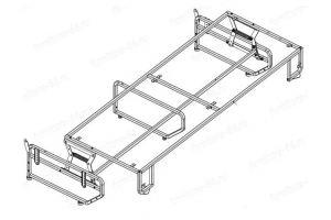 Выкатной механизм ВМ-3 - Оптовый поставщик комплектующих «Металл-комплект»