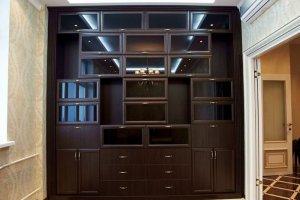 Высокая классическая стенка - Мебельная фабрика «Santana»