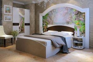 Высокая кровать Артена - Мебельная фабрика «Мастер»
