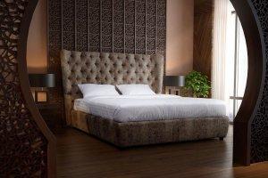 Высокая кровать Донна - Мебельная фабрика «NEXTFORM»