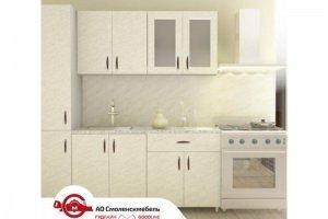 Высококачественная кухня Мрамор Карара - Мебельная фабрика «Смоленскмебель»