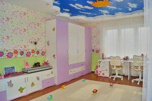 Яркая детская для двух девочек - Мебельная фабрика «Мебель +5»