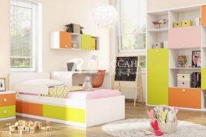 Яркая Детская мебель Радуга - Мебельная фабрика «Ренессанс»