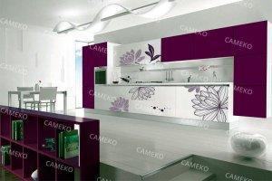 Яркая кухня - Мебельная фабрика «Самеко»