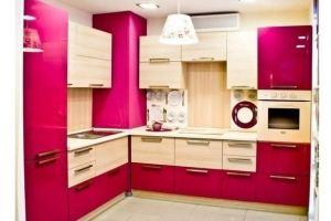 Яркая кухня - Мебельная фабрика «Элна»