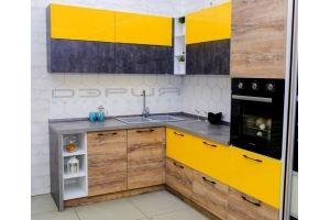 Яркая кухня Феникс - Мебельная фабрика «Дэрия»