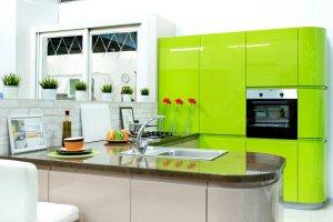 Яркая кухня глянец - Мебельная фабрика «Найди»